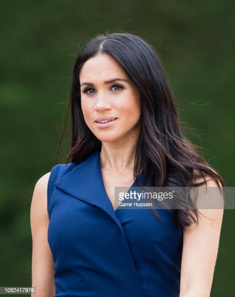 Meghan, Duchess of Sussex attends a Reception hosted by the Honourable Linda Dessau AC, Governor of Victoria and Mr. Anthony Howard QC at Government...