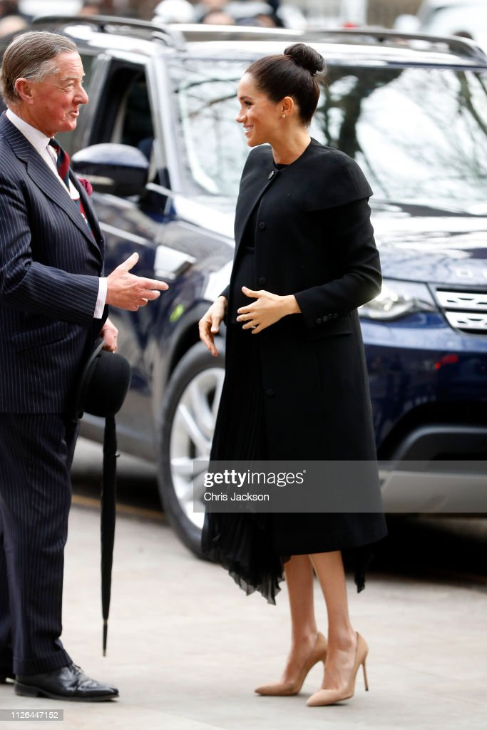 The Duchess Of Sussex Visits Association Of Commonwealth Universities : News Photo