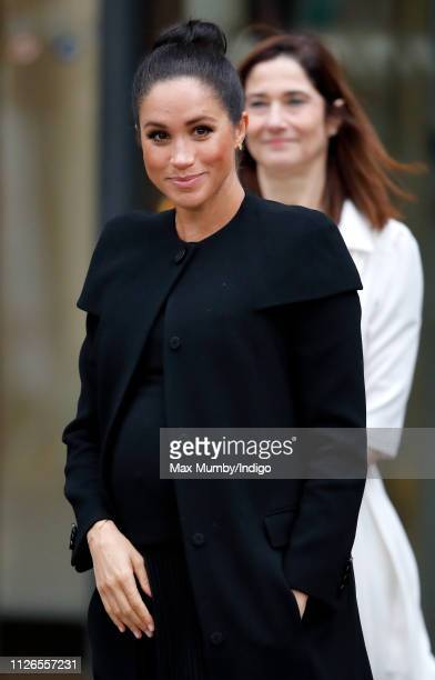 Meghan Duchess of Sussex attends an engagement with the Association of Commonwealth Universities at City University of London on January 31 2019 in...