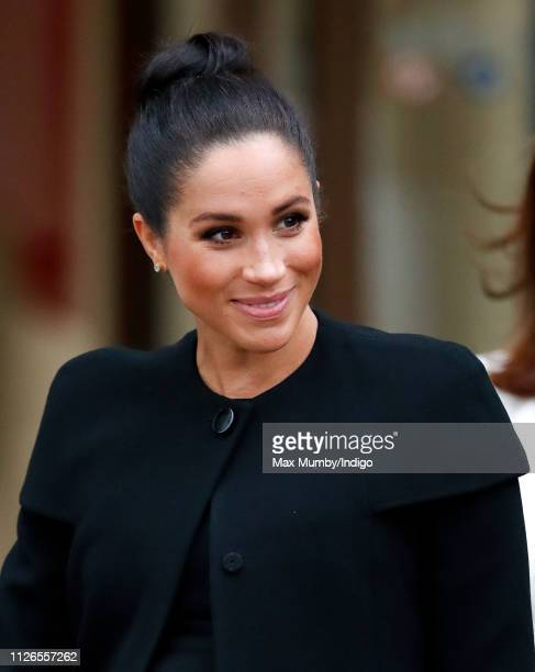 Meghan, Duchess of Sussex attends an engagement with the Association of Commonwealth Universities at City, University of London on January 31, 2019...