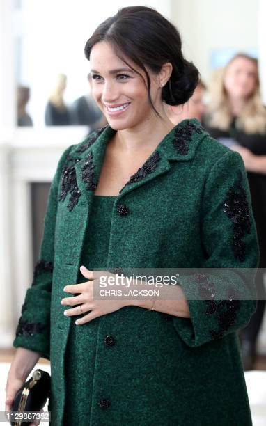 Meghan Duchess of Sussex attends an event at Canada House the offices of the High Commision of Canada in the United Kingdom to mark Commonwealth Day...