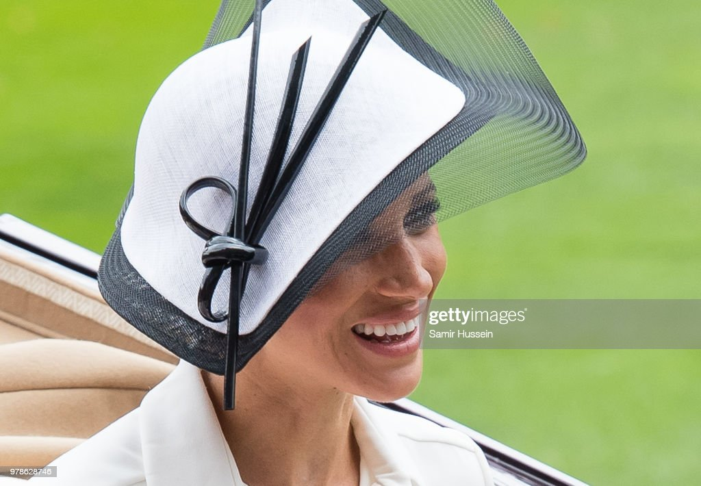 Meghan Makes Her Royal Ascot Debut
