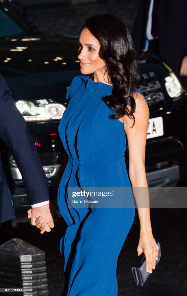 Meghan, Duchess of Sussex attends the '100 days of peace' concert to commemorate the centenary of the end of the First World War at Central Hall Westminster on September 6, 2018 in London, England. The evening will benefit three mental health charities 'Heroes', 'Combat Stress' and 'Heads Together'.