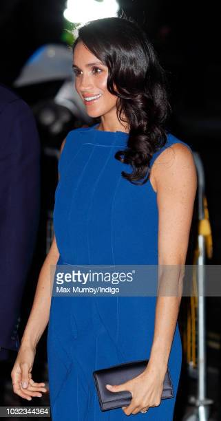 Meghan Duchess of Sussex attends the 100 Days of Peace concert to commemorate the centenary of the end of the First World War at Central Hall...