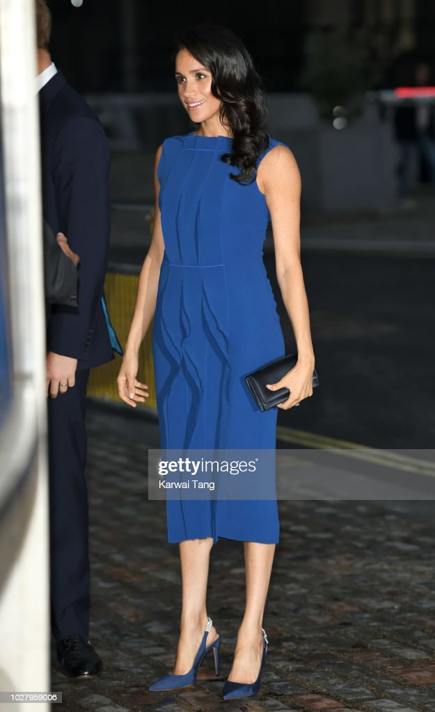 Meghan, Duchess of Sussex attends the '100 Days To Peace' concert to commemorate the centenary of the end of the First World War at Central Hall Westminster on September 6, 2018 in London, England. The evening will benefit three mental health charities 'Help for Heroes', 'Combat Stress' and 'Heads Together'.