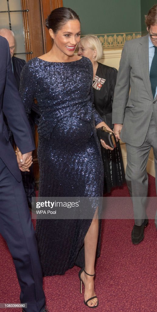 "The Duke And Duchess Of Sussex Attend The Cirque du Soleil Premiere Of ""TOTEM"" In Support Of Sentebale : News Photo"