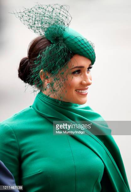 Meghan, Duchess of Sussex attends the Commonwealth Day Service 2020 at Westminster Abbey on March 9, 2020 in London, England. The Commonwealth...