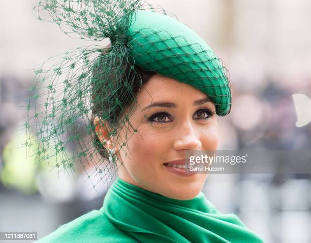 Meghan, Duchess of Sussex attends the Commonwealth Day Service 2020 on March 09, 2020 in London, England.