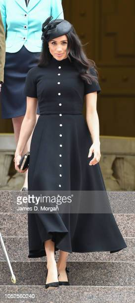 Meghan Duchess of Sussex attends the official opening of the extension of the ANZAC Memorial in Hyde Park on October 20 2018 in Sydney Australia The...