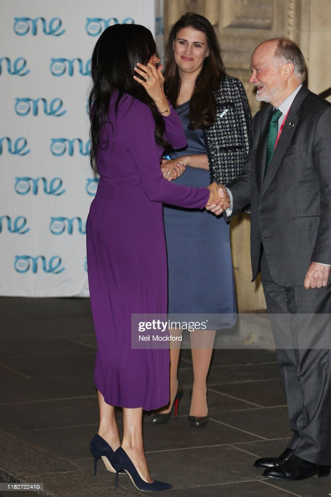 The Duchess Of Sussex Attends The One Young World Summit Opening Ceremony : News Photo