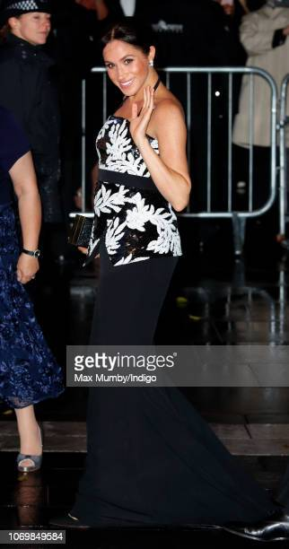 Meghan, Duchess of Sussex attends The Royal Variety Performance 2018 at the London Palladium on November 19, 2018 in London, England.