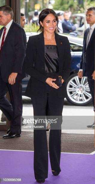 Meghan, Duchess of Sussex attends the WellChild awards at Royal Lancaster Hotel on September 4, 2018 in London, England. The Duke of Susssex has been...