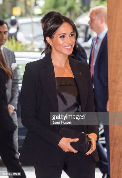Meghan Duchess of Sussex attends the WellChild awards at Royal Lancaster Hotel on September 4 2018 in London England The Duke of Susssex has been...