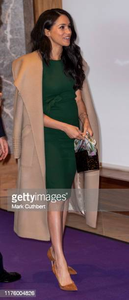 Meghan, Duchess of Sussex attends the WellChild awards at Royal Lancaster Hotel on October 15, 2019 in London, England.