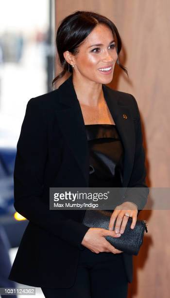 Meghan Duchess of Sussex attends the WellChild awards at the Royal Lancaster Hotel on September 4 2018 in London England The Duke of Sussex has been...