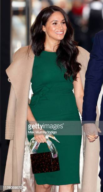 Meghan, Duchess of Sussex attends the WellChild awards at the Royal Lancaster Hotel on October 15, 2019 in London, England.