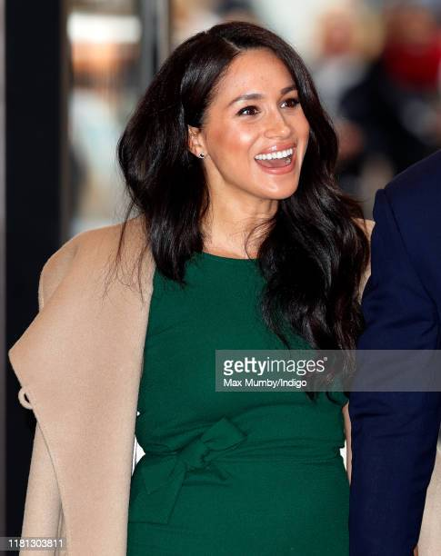 Meghan Duchess of Sussex attends the WellChild awards at the Royal Lancaster Hotel on October 15 2019 in London England