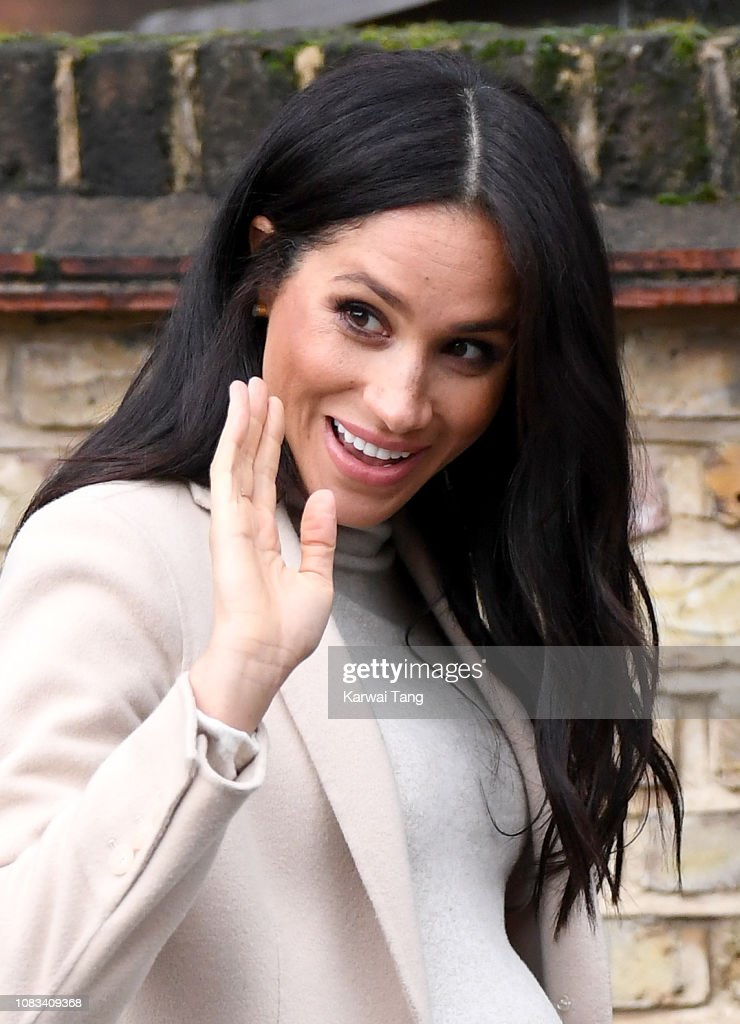 The Duchess Of Sussex Visits Mayhew Animal Welfare Charity : News Photo