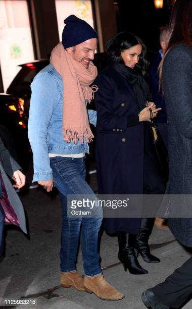 Meghan Duchess of Sussex is seen on February 19 2019 in New York City