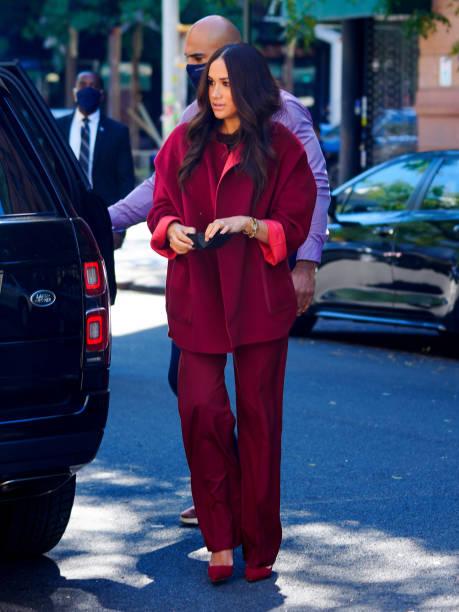 NY: Celebrity Sightings In New York City - September 24, 2021