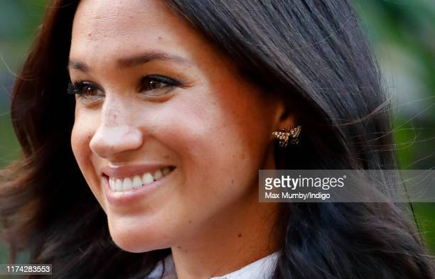 Meghan, Duchess of Sussex launches the Smart Works capsule collection on September 12, 2019 in London, England. Created in September 2013 Smart Works...