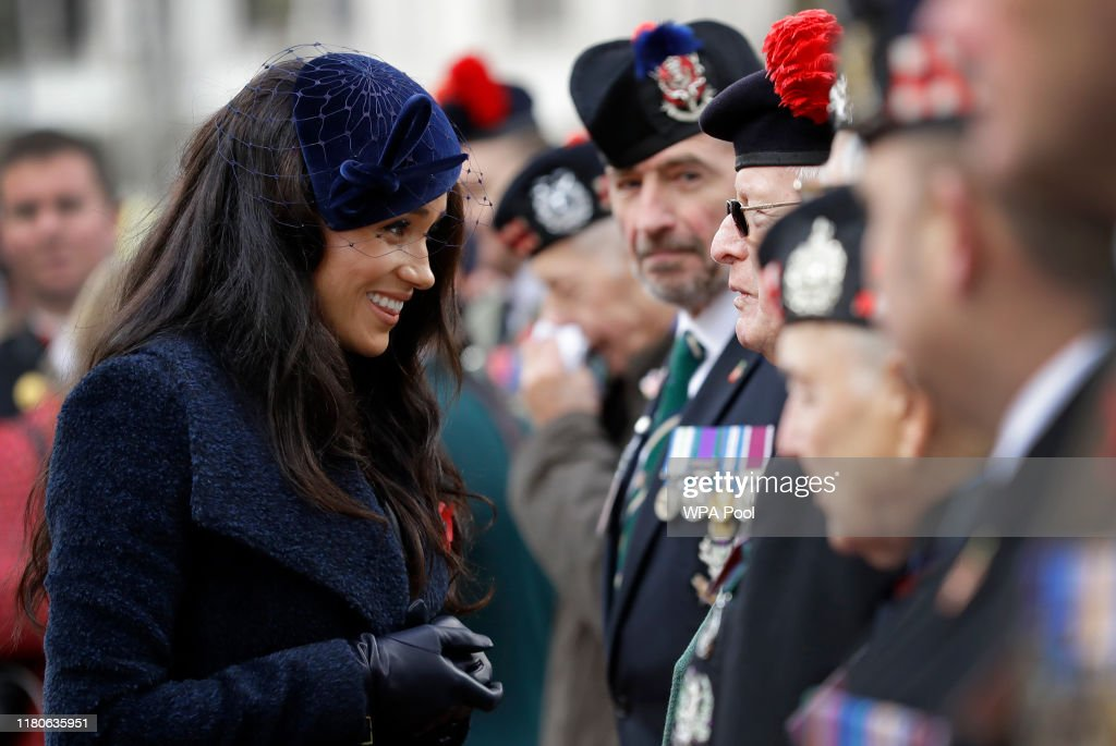 Members Of The Royal Family Attend The 91st Field Of Remembrance At Westminster Abbey : News Photo