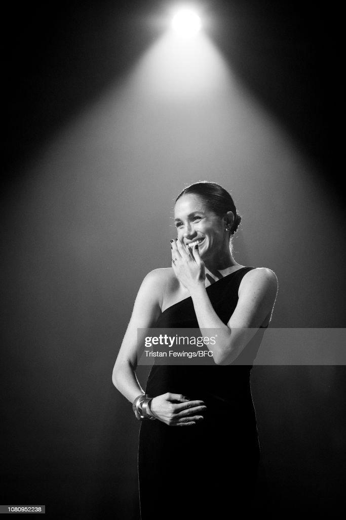 The Fashion Awards 2018 In Partnership With Swarovski - Black & White : News Photo