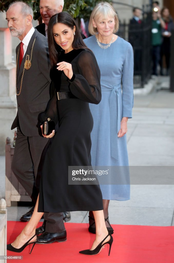 The Duchess of Sussex Opens 'Oceania' At The Royal Academy Of Arts : News Photo