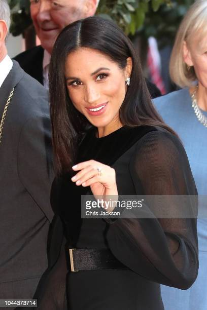 Meghan, Duchess of Sussex opens 'Oceania' at Royal Academy of Arts on September 25, 2018 in London, England. 'Oceania' is the first-ever major survey...
