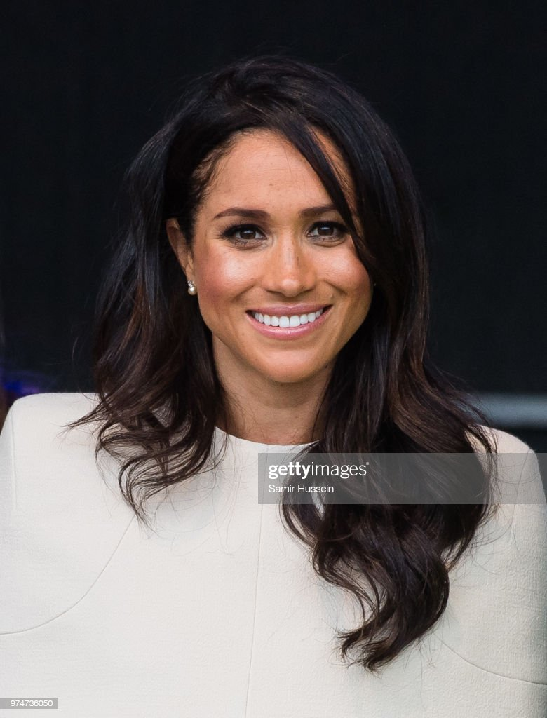 Meghan, Duchess of Sussex opens the new Mersey Gateway Bridge on June 14, 2018 in Widness, England.