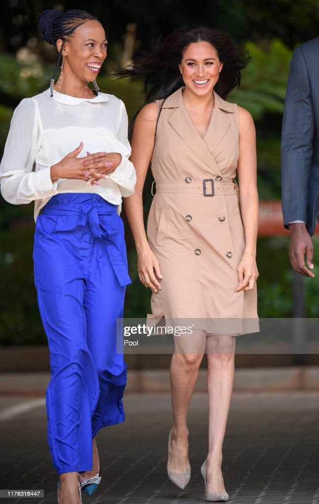 The Duke And Duchess Of Sussex Visit Johannesburg - Day One : News Photo