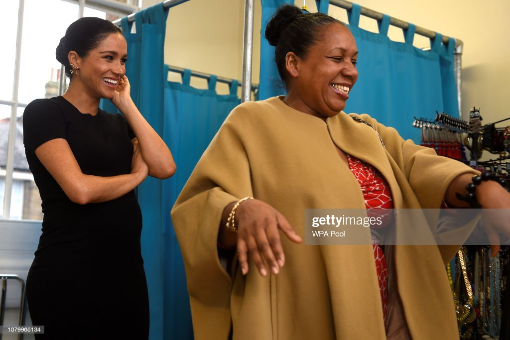 Duchess Of Sussex Announces Four Royal Patronages : News Photo