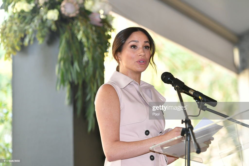 The Duke And Duchess Of Sussex Visit Johannesburg - Day Two : News Photo