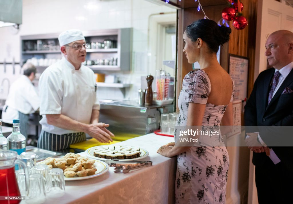 The Duchess Of Sussex Visits Brinsworth House : News Photo