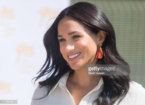 Meghan Duchess of Sussex visit the Tembisa Township to learn about Youth Employment Services on October 02 2019 in Tembisa South Africa