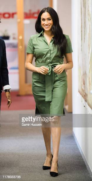 Meghan Duchess of Sussex visits ActionAid during the royal tour of South Africa on October 01 2019 in Johannesburg South Africa
