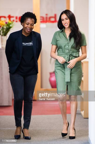 Meghan, Duchess of Sussex visits ActionAid during the royal tour of South Africa on October 01, 2019 in Johannesburg, South Africa.