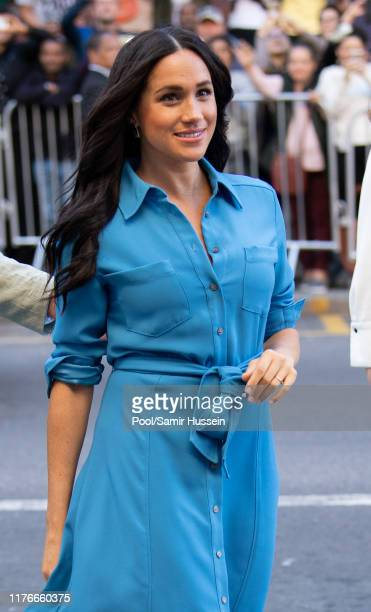 Meghan Duchess of Sussex visits District 6 Museum on September 23 2019 in Cape Town South Africa
