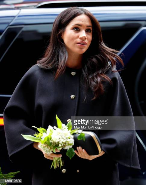 Meghan, Duchess of Sussex visits New Zealand House to sign a book of condolence on behalf of The Royal Family following the recent terror attack...