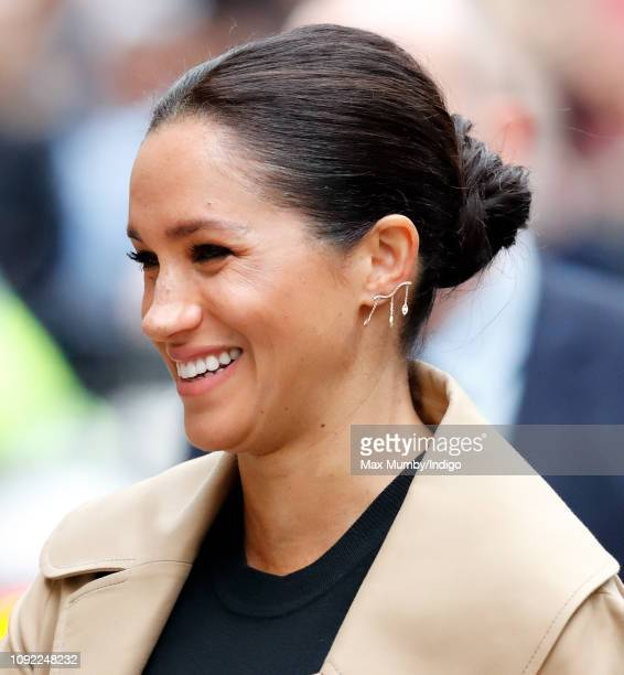 Meghan, Duchess of Sussex visits Smart Works on January 10, 2019 in London, England. Kensington Palace announced today that The Duchess of Sussex has...