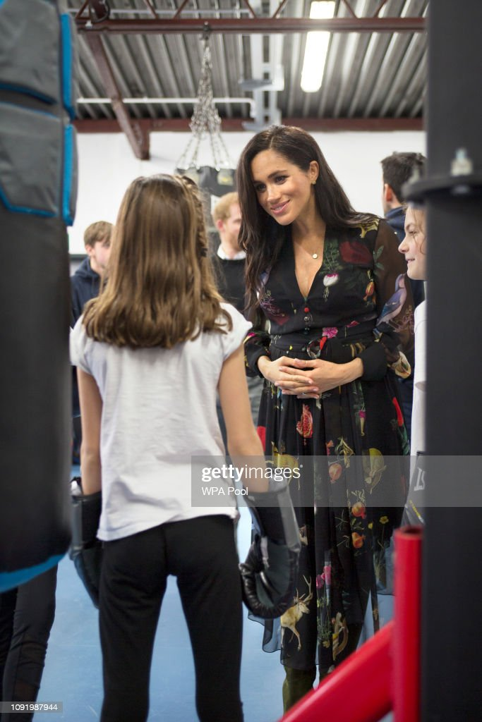 The Duke And Duchess Of Sussex Visit Bristol : News Photo