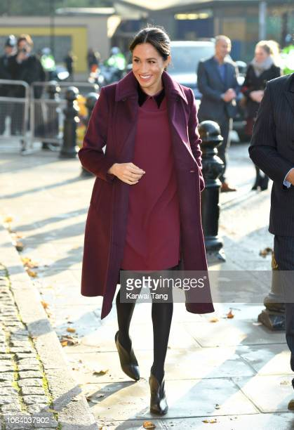 Meghan Duchess of Sussex visits the Hubb Community Kitchen to see how funds raised by the 'Together Our Community' Cookbook are making a difference...