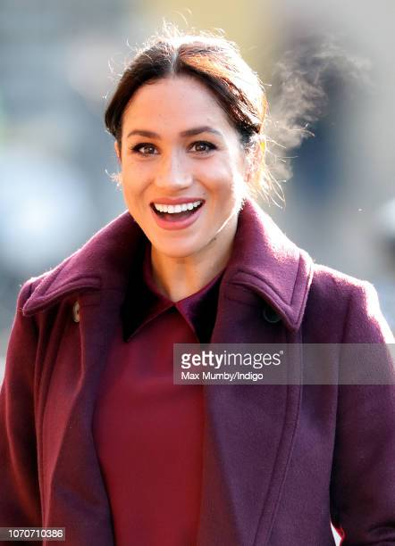 Meghan Duchess of Sussex visits the Hubb Community Kitchen to see how funds raised by the 'Together Our Community Cookbook' are making a difference...