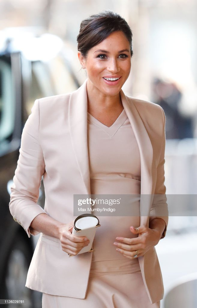 GBR: The Duchess Of Sussex Visits The National Theatre