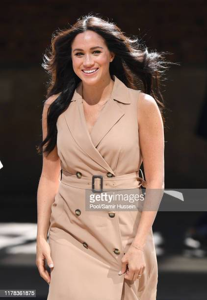 Meghan Duchess of Sussex visits the University of Johannesburg on October 01 2019 in Johannesburg South Africa This is part of the Duke and Duchess...