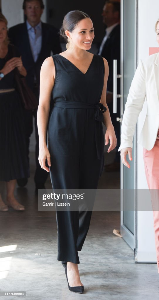 The Duke & Duchess Of Sussex Visit South Africa : News Photo