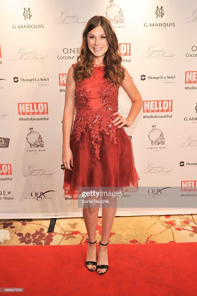 Meghan Heffern attends HELLO! Canada Gala Celebrates Canada's Most Beautiful Gala at Shangri-La Hotel on May 22, 2014 in Toronto, Canada.