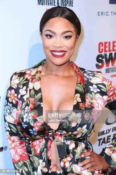 Meghan James attends the 13th Annual Celebrity Sweat ESPYS After Party at The Palm Restaurants on July 12 2017 in Los Angeles California