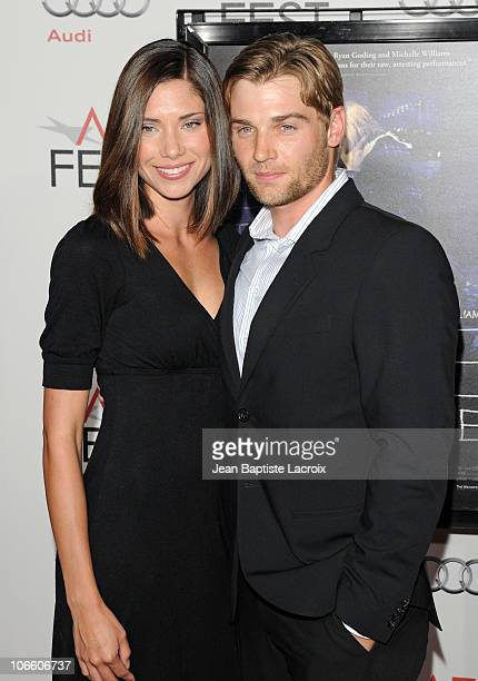 Meghan Jones and Jake Pavelka arrive at the 'Blue Valentine' screening during the AFI Fest 2010 2010 presented by Audi held at Grauman's Chinese...