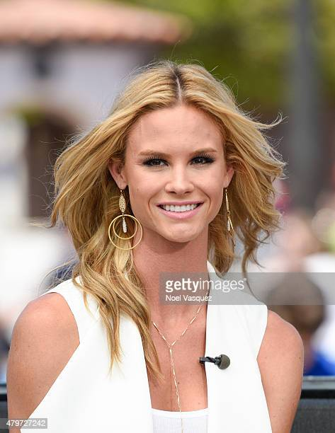 Meghan King Edmonds visits Extra at Universal Studios Hollywood on July 6 2015 in Universal City California